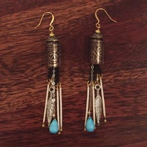 Hays Bullet Shell Earrings