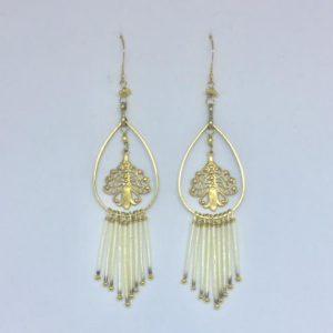 Porcupine Fan Earrings