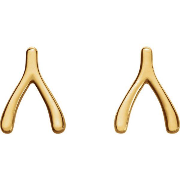 Wishbone Earrings