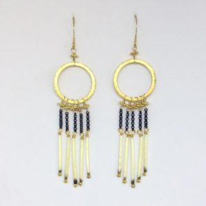 Porcupine Fringe Earrings