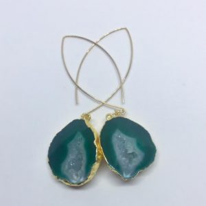 #1 Green Mojave Earrings