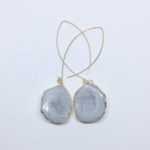 Grey-White Mojave earrings
