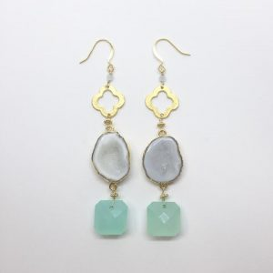 Aqua Nephos Earrings