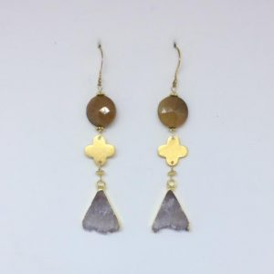 Amatista Earrings