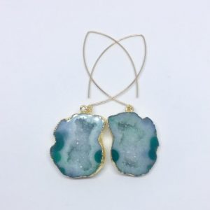 #2 Green Mojave Earrings